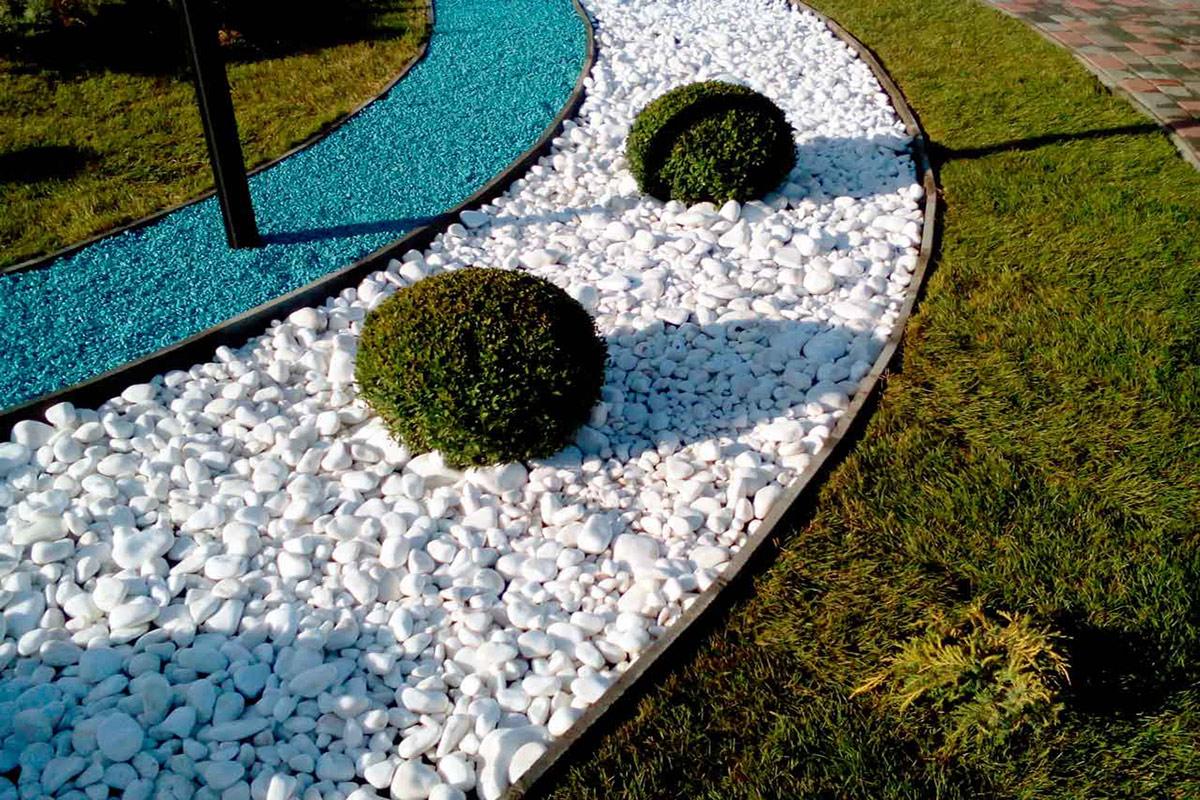Искусственные камни в ландшафтном дизайне