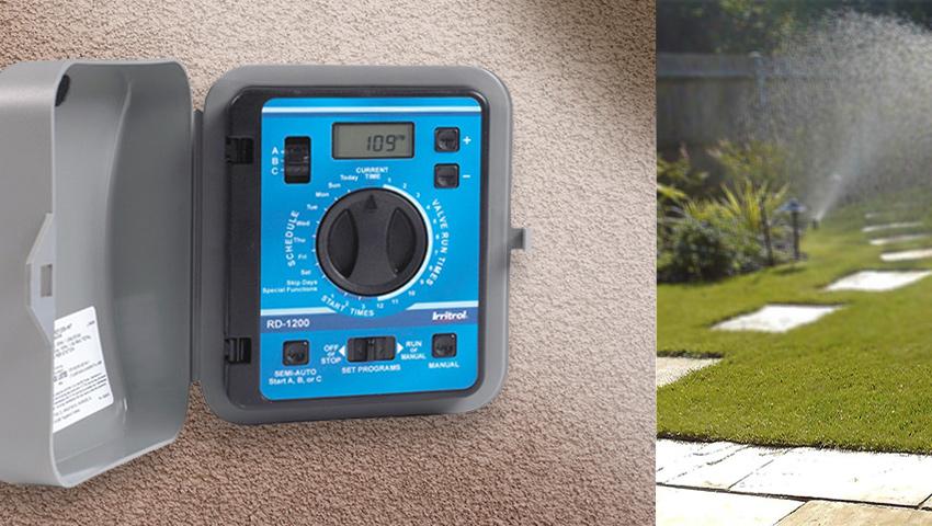 контроллер полива Irritrol Rain Dial-R Series