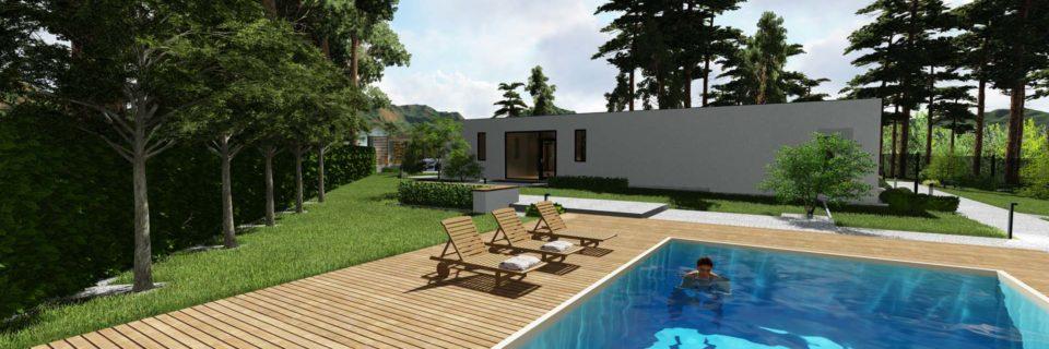 Строительство террас и палуб для бассейнов