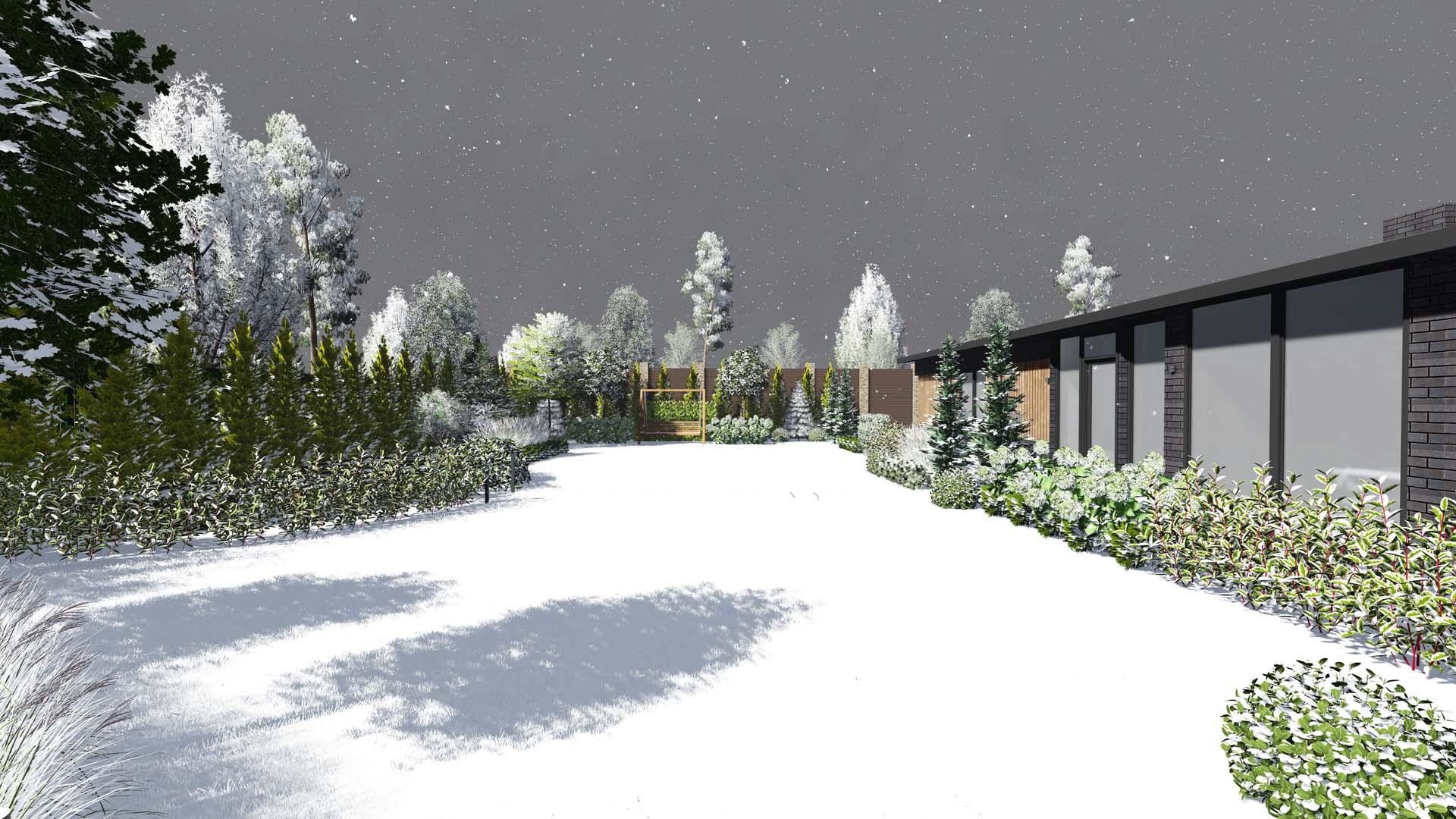 Ландшафтное проектирование участка в с. Тарасовка