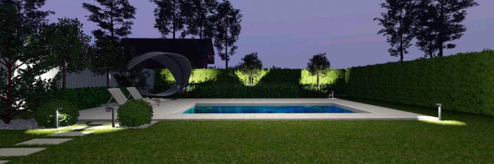 Ландшафтное проектирование участка в КГ Барбери Парк