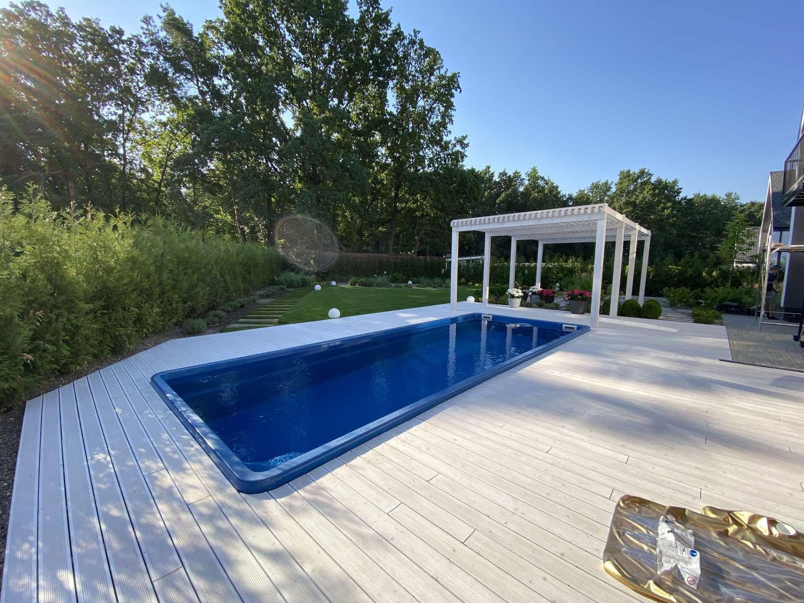 Строительство и обустройство бассейнов