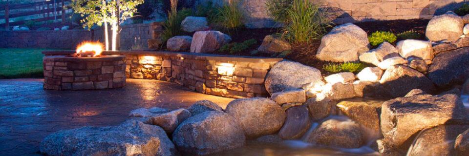 Ландшафтное освещение водных объектов
